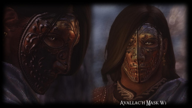 male avallach Mask