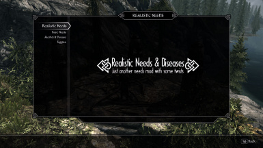 Realistic Needs and Diseases (USSEP) for Beyond Skyrim