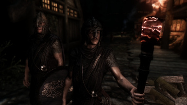 Nord and Breton Guards in Imperial held Falkreath