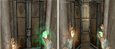 Simple Targeted Open Spells - Classic TES style at Skyrim