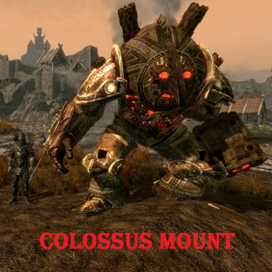 Dwarven Colossus Mounts and Followers SE