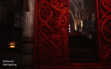 Nordic Carving - Great Portal of Dragonsreach SE