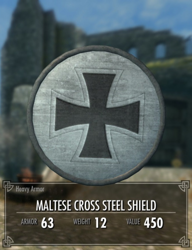 Maltese Cross Shield