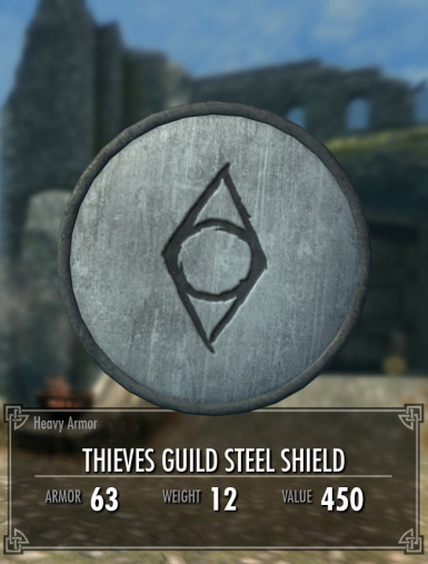 Thieves Guild Shield