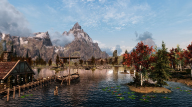 Sin Extreme ENB for NAT - Clear morning overlooking Lake Honrich from Honeyside deck