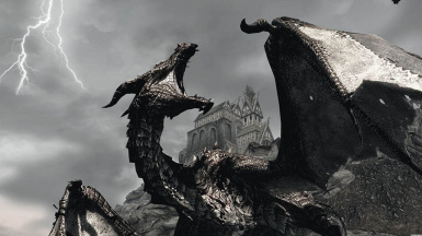 The Real Dragon Threat At Skyrim Special Edition Nexus Mods And