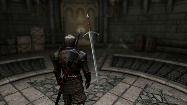 The Witcher Silver Sword
