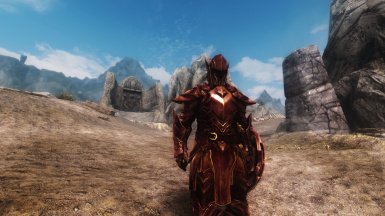 Crimson Ebony Armor