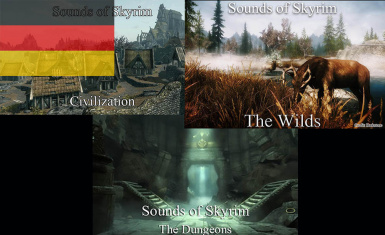 Sounds of Skyrim Complete SE - German Translation