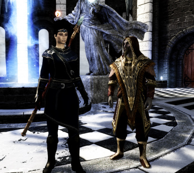 Opulent Outfits - Mage Robes of Winterhold 2017-SSE