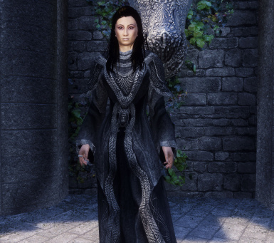 Monk Robes Grey Unhooded