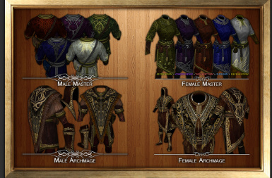 Opulent Robes  Arch-Mage M F