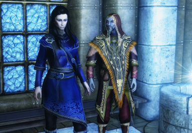 Opulent Outfits - Mage Robes of Winterhold 2018-SSE