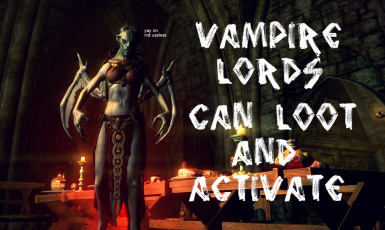 Vampire Lords Can Activate