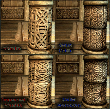 Whiterun Wood Carvings Options