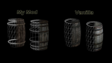 Barrels Render Comparison
