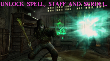 File information & Unlock spell staff and scroll SE-VR at Skyrim Special Edition Nexus ...