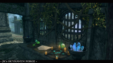 Alchemy and Enchanting stations plus custom containers