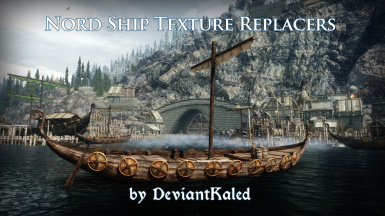 DK's Nord Ship Texture Replacers
