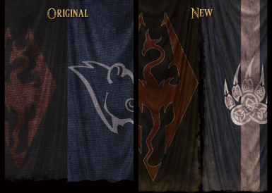 Civil War Banners Compare