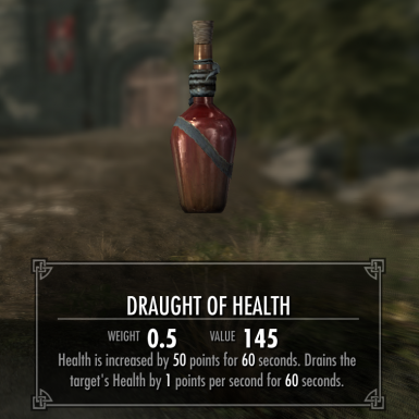 Skytoxin Draught of Health