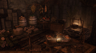 Redoran Grove - Player Home with Teleport at Skyrim Special