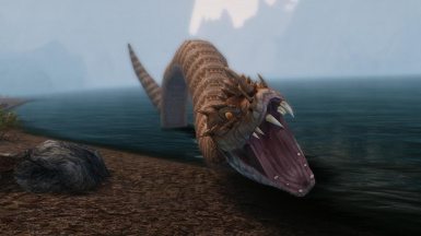 Giant Snakes - Mihail Monsters and Animals (SSE) (mihail immersive add-ons -eso -reptiles)