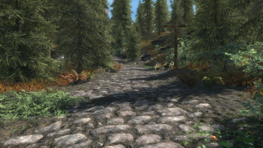 Really Blended Roads with Great Forest of Whiterun and Unbelievable Grass 2
