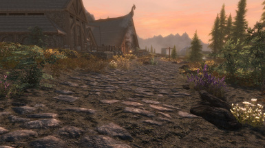 Really Blended Roads with Great Forest of Whiterun and Unbelievable Grass 1