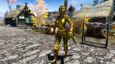 Elven Alternative Armor and Weapons