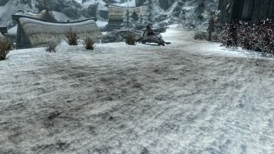 Dirt Snow Path - 1K texture and no ENB