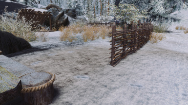 Dirt Snow Path - 2k texture and Re-Shade ENB