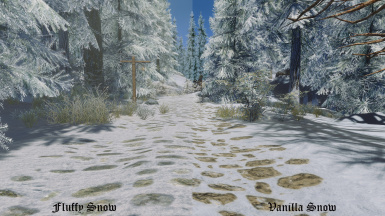 Fluffy Snow 6 - 4K with ENB
