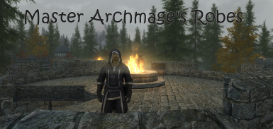Master Archmage's Robes SSE