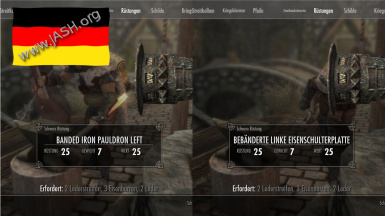 Pauldron - German Translation
