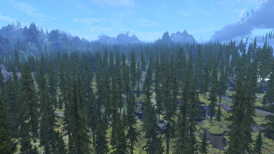 LODs set at negative 3  LODs only no rendered trees