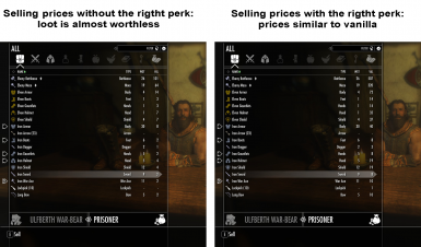Selling Prices Perk