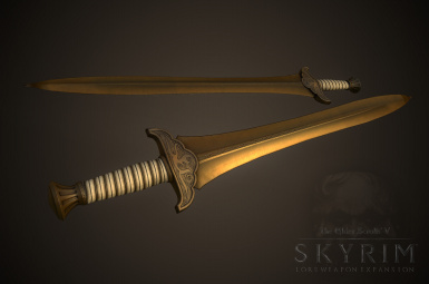Golden Saint Longsword