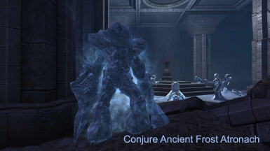 Conjure Ancient Frost Atronach (EN and FR)