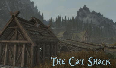 CatShack Across from Chillfurrow Farm