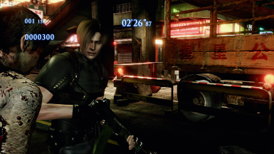 RE4 Leon (with and without jacket)