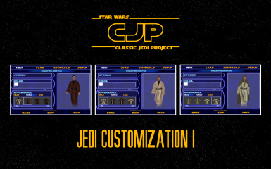 Classic Jedi Project (CJP) Jedi Customization I