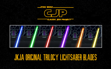Classic Jedi Project (CJP) Original Trilogy Lightsaber Blades HD