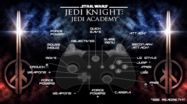 Jedi Academy Full Controller support and more