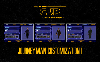 Classic Jedi Project (CJP) Journeyman Customization I
