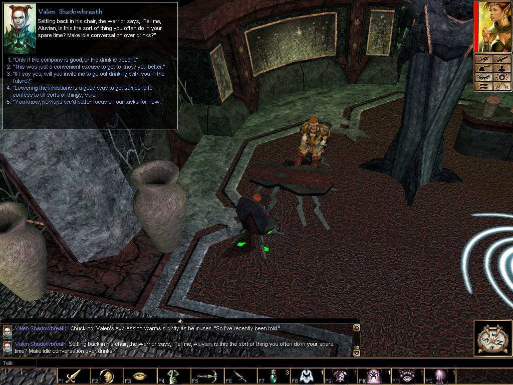 There are a lot of great looking *ahem* adult haks out there for neverwinter nights 2
