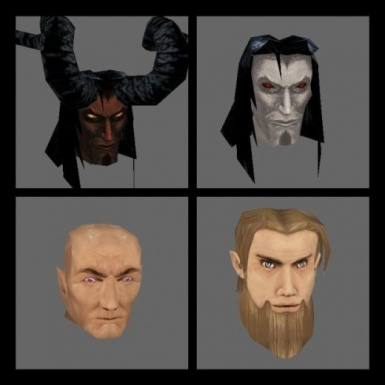 NPC Heads for PC - packs 1-3