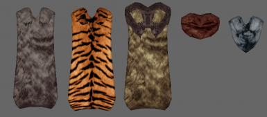 Animal Pelt Cloaks