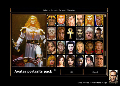 Ultima and other Portraits