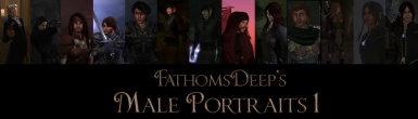 FathomsDeep's Male Portrait Collection 1